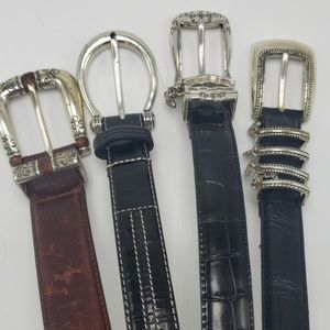 Brighton Belts | Lot of 4 all Leather